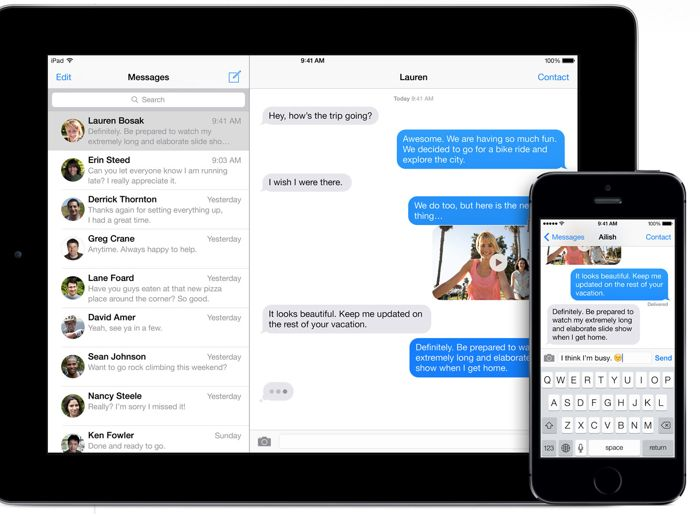 imessage bug fix