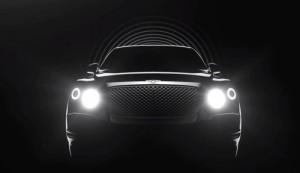 New Bentley SUV Teased On Video
