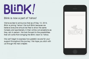 Blink Messaging App to Be Shutdown in Coming Weeks after Yahoo purchase
