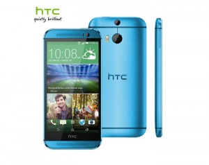Blue HTC One M8 Appears Online