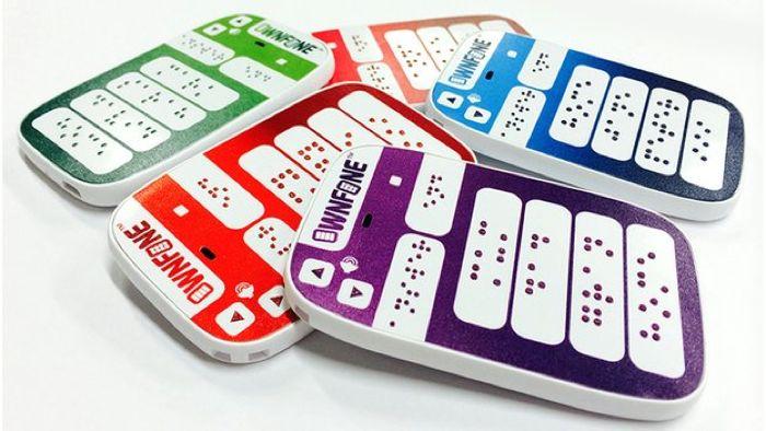 3D Printed Braille Phone