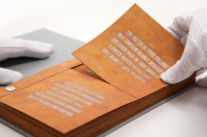 The Drinkable Book Is Designed To Purify Water (Video)