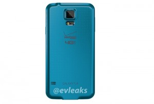 Verizon Samsung Galaxy S5 Shows Up in Blue Color