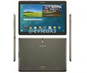 Samsung Galaxy Tab S Press Renders Leaked