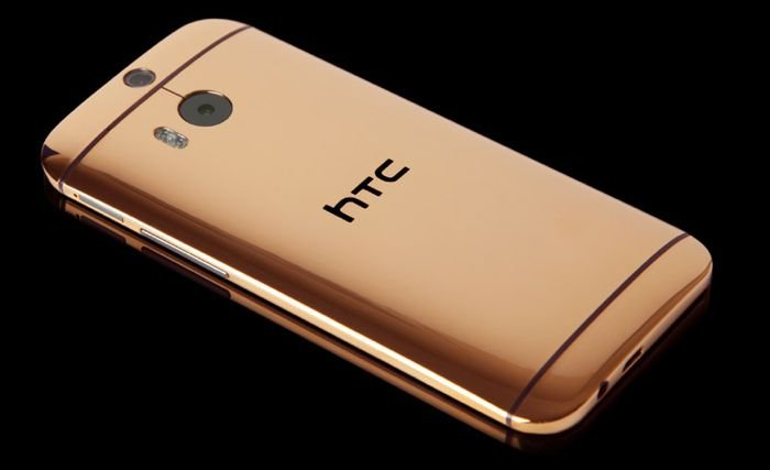 24K Gold Plated HTC One M8