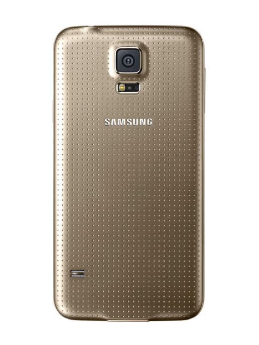 Gold Samsung Galaxy S5