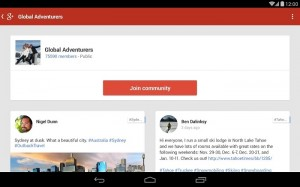 Google+ for Android Picks Up An Update With Improved Design and Faster Performance
