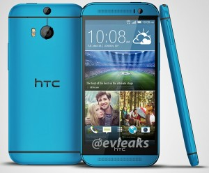 HTC One M8 Leaked With A Blue Paint Job