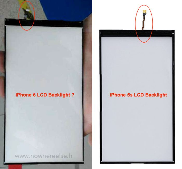 iPhone 6 lcd backlight