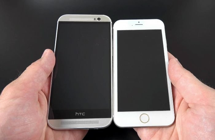 iPhone 6 Design Compared To Galaxy S5, HTC One M8 And More ...  Iphone