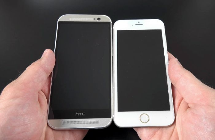 iPhone 6 Design Compared To Galaxy S5, HTC One M8 And More ... | 700 x 457 jpeg 31kB
