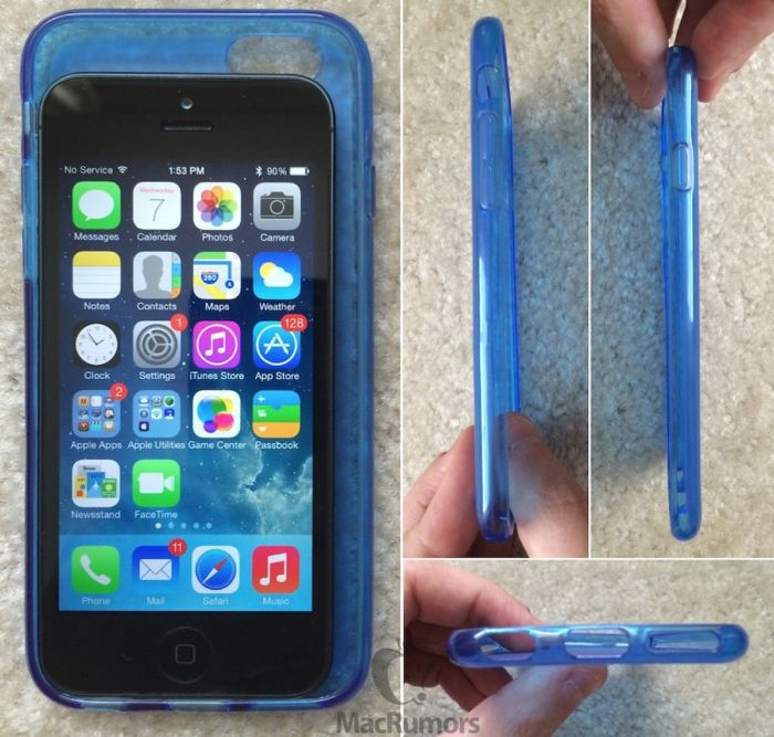 iPhone 6 Mockup Compared To Previous iPhones