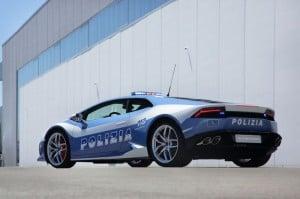 Lamborghini Huracan LP 610-4 Given To The Italian Police