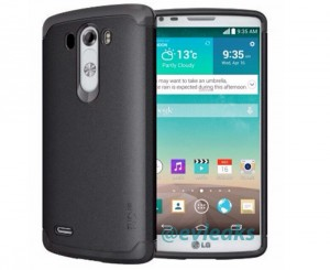 LG G3 in White Leaks Again, With A Protective Case