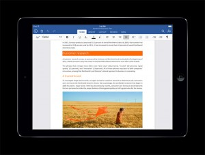 Office for iPad reached 27 million Downloads in 46 days