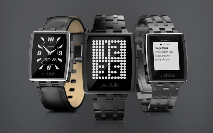 pebble-steel smartwatch