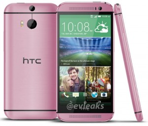 Pink HTC One M8 Leaked