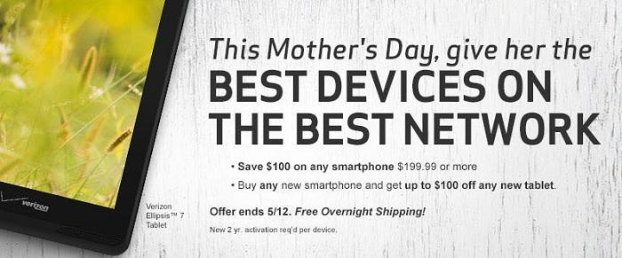 Verizon Mothers Day
