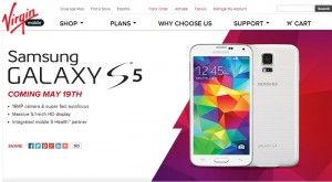 Samsung Galaxy S5 To Hit Virgin Mobile on May 19th