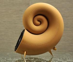 Akemake 3D Printed Speaker Created Using Timberfill Wood Filament