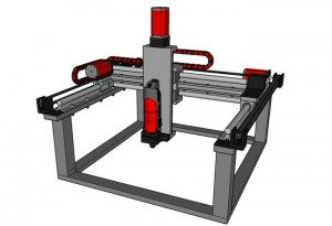Buildersbot Arduino Controlled CNC And 3D Printer (video)