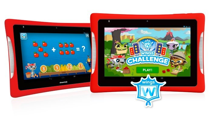 Android kids tablet