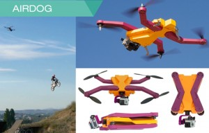 AirDog Auto Follow Camera Drone Captures All Your Tricks And Adventures (video)
