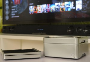 EzeeCube Mini PC Modular Media Hub (video)