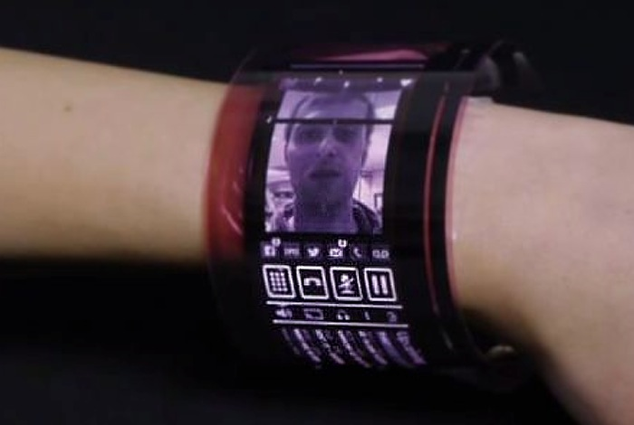 Wearable Flexible AMOLED Display Unveiled By PlasticLogic