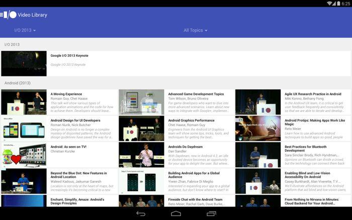 Google IO 2014 App