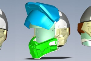 Halo Motorcycle Helmet Unveiled By NECA (video)