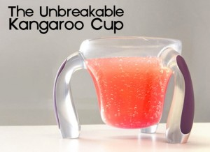 Kangaroo Cup Designed By 11 Year Old Lily Hits Kickstarter (video)