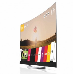 LG's 4K Curved Ultra HD TV Launch In The UK