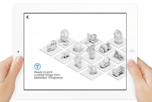 MakerBot PrintShop iPad App Makes Creating 3D Models Easy