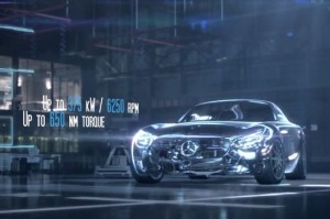 Mercedes AMG GT Engine Shown Off On Video