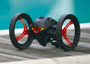 Wheeled Jumping And Flying Parrot MiniDrones Launching August 2014 (video)