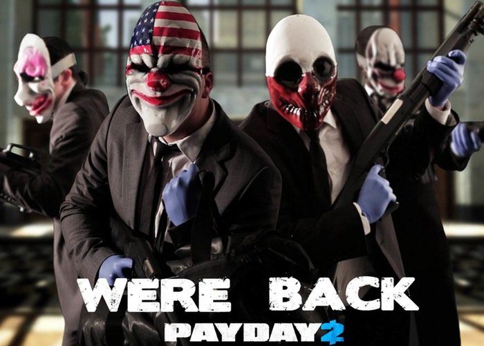 Payday 2 Big Bank Heist DLC