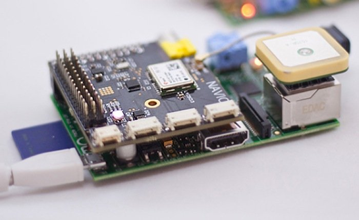 Navio Raspberry Pi Autopilot Shield Lets You Easily Take Control of