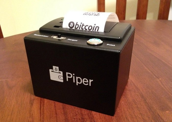 Raspberry Pi PiperWallet
