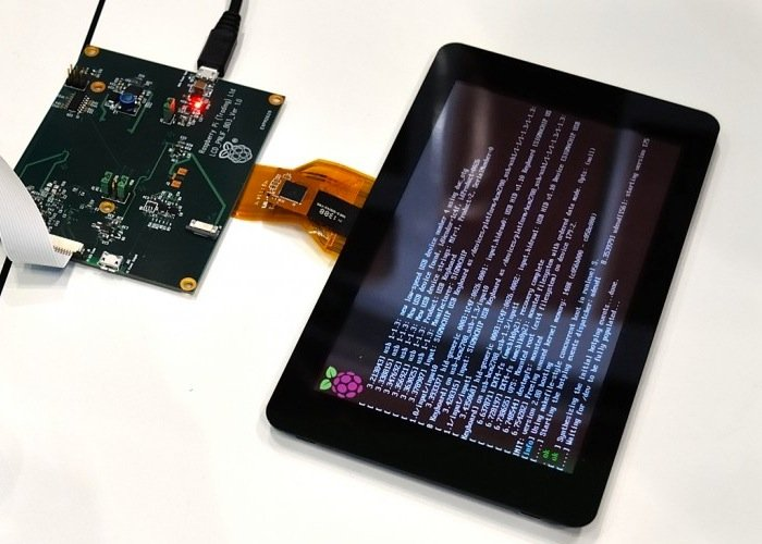 Raspberry Pi Touchscreen Lcd Display Production Starting