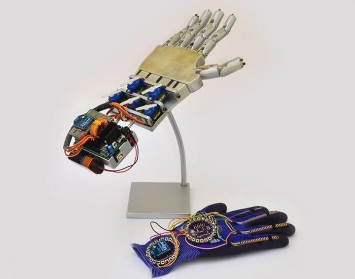 Robotic Hand Arduino