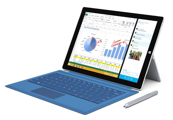 First Microsoft Surface Pro 3 Advert Unveiled (video)