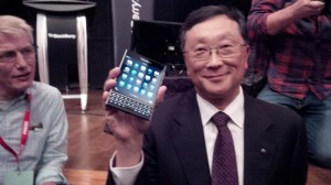 BlackBerry Passport Appears On Video