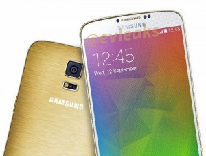 Samsung Galaxy F Press Render Leaks In Gold Color