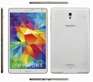 Samsung Galaxy Tab S 8.4 Press Render Leaked