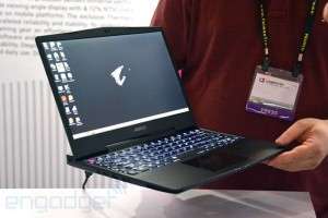 Gigabyte's Aorus X3 gaming laptops are lighter than the Razer Blade