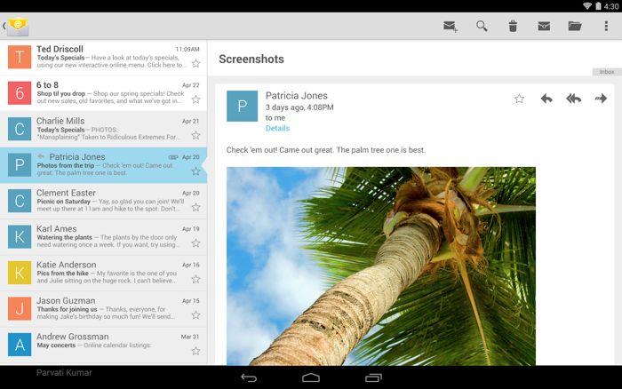 Google Email App