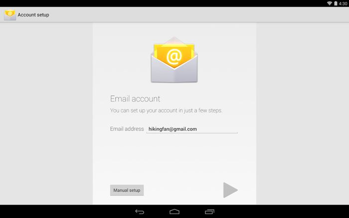 Google Email App