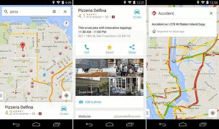 google maps crosses one billion s on android