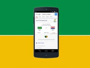 Google Search Now Shows You Fifa 14 World Cup Information